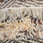 Preview: Luxury sofkissen, Hand-woven, Wool with linen - Indian Exotic