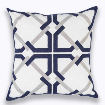 Sofa pillow Modern and high quality - Geometric Blue