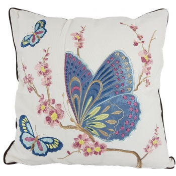 Luxury couch Pillow, Cotton, Unique, embroidered with modern and beautiful design - Schmet