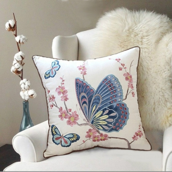 Luxury couch Pillow, Cotton, Unique, embroidered with modern and beautiful design | B-Schmet