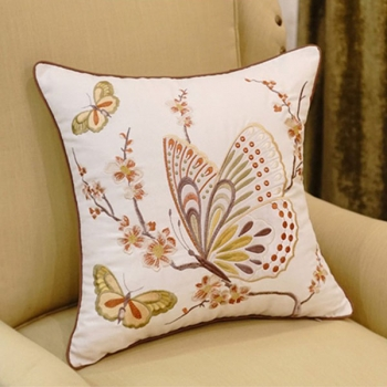 Luxury couch Pillow, Cotton, Unique, embroidered with modern and beautiful design | M-Schmet
