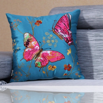 a colorful high quality high quality embroidered design creative luxury cushions the living pillow is a great accessory for sofas beds or luxury bedding