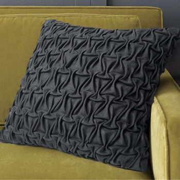 Luxury decorative pillows, 3D design | Wild grey