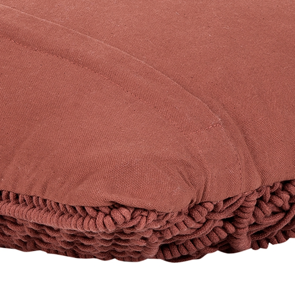 picture 3 of a luxury cushion with inlett, Model ROSV20_3